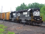 Norfolk Southern Local switching  South end of Spencer Yard