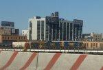 CSX Selkirk-Oak Point (Bronx) freight on Oak Point connector