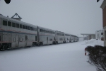 The Empire Builder detours on the Canadian National