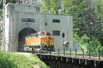 BNSF 4344 exiting Cascade Tunnel