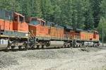 BNSF 4344, BNSF 5038, and BNSF 978