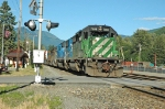 BNSF 7909 rolling through Skykomish