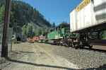 BNSF 6702 westbound into the Cascade Tunnel