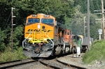 BNSF 7782 westbound out of Skykomish