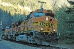 BNSF 5385 westbound at Scenic