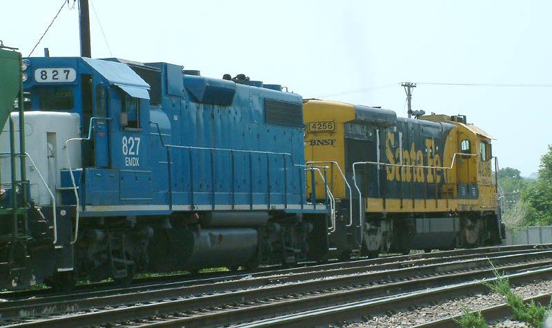Grain Train arrives