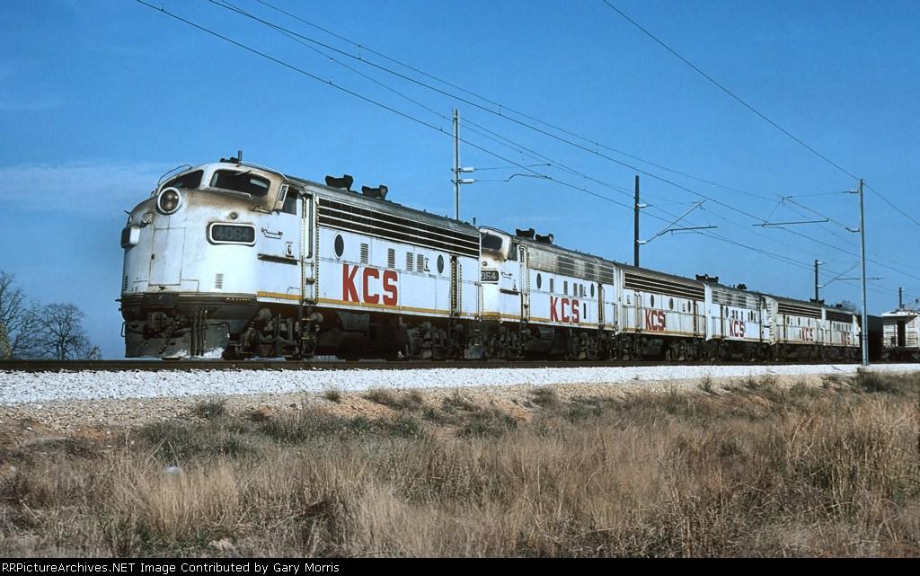 "KCS F units ""under wire"""