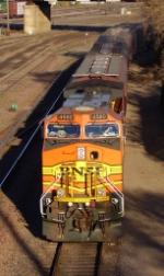 BNSF 4580