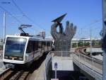 LACMTA Green Line light rail transit system Los Angeles County Ca