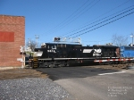 NS 9834 Heads back to the C&W Yard