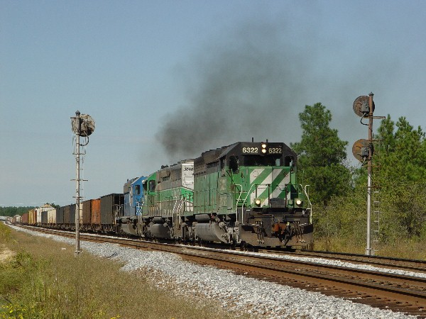 BNSF 6322