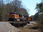 BNSF 4839 crossing Cedar Creek