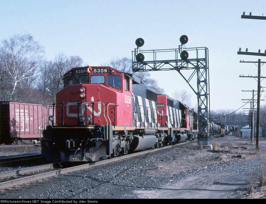 CN 5358 Bayview JCT