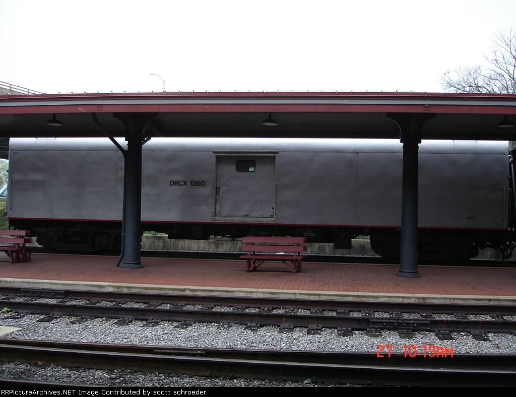 DRCX 1360 Baggage Car