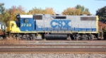 CSXT 2720(GP38-2) ex CR 8051(GP38-2), PC 8051 (GP38-2)