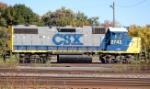CSXT 2743(GP38-2) ex CR 8112(GP38-2), PC 8112 (GP38-2)