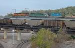 BNSF and UP trains at Santa Fe Junction