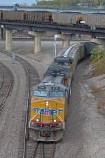 UP 5399 South at Santa Fe Junction