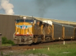 UP 3904 crosses the CSX/NS diamond