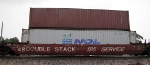 Double Stack with NOL container