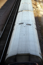 Metra Passenger Car, Roof Detail