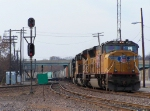 Northbound Empty Grain Train