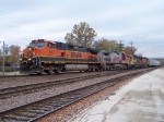 Northbound BNSF Empty Grain Train