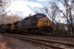 mty coal moves slow thru Spruce pine