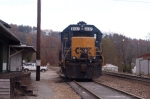 spruce pine local engine sits sat morning