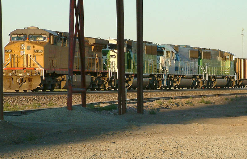 Coal Train waits