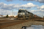 NS 9752 has coal in tow