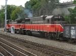 Train PR-3 at Orms Interlocking