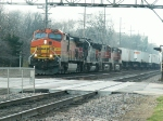 BNSF Freight Rolls East