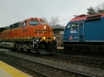 BNSF and Metra Meet