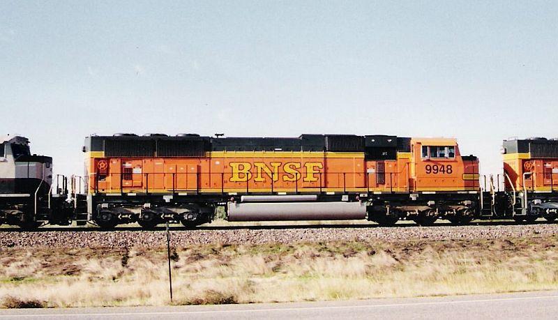 BNSF SD 70 MAC 9948
