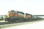 BNSF SD 40-2s 7040 and 7144