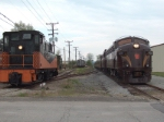 Vintage locomotives