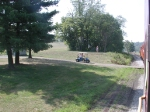 Golf carts beware