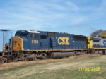 Closeup of Ex Conrail now CSX 8753
