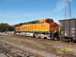 BNSF 5971 doing some DPU'ing