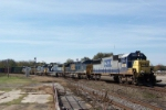 CSX northbound with plenty of power