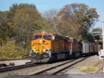 BNSF 5946 leads NS train 737 westbound