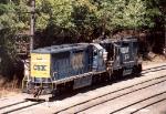 CSX 8973 & NS 5220