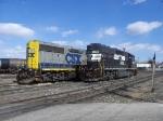 NS 3022 & CSX 4415