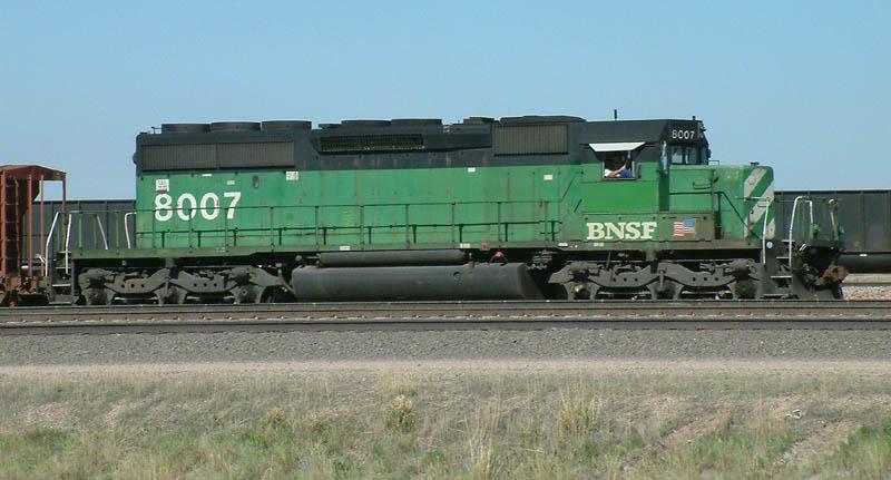 BNSF 8007