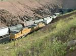 EB Intermodal overtakes freight