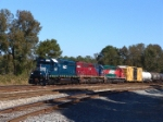 HLCX 8144 leads a colorful consist