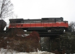 Train CT-1 on the Nook Hill Bridge