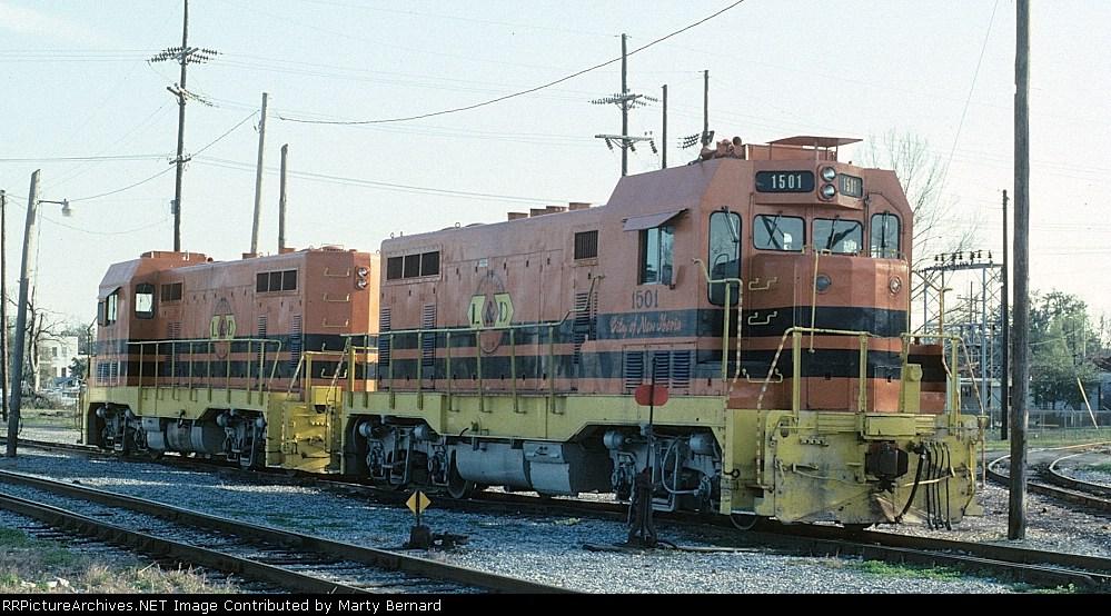 Lousiana Delta RR CF7 #1501