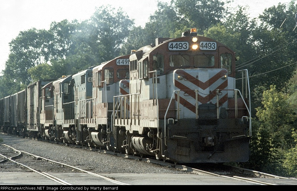 Four Geeps Not Quite in Numerical Order